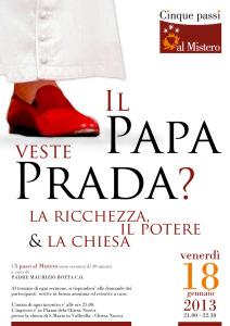 2012 Il Papa veste Prada